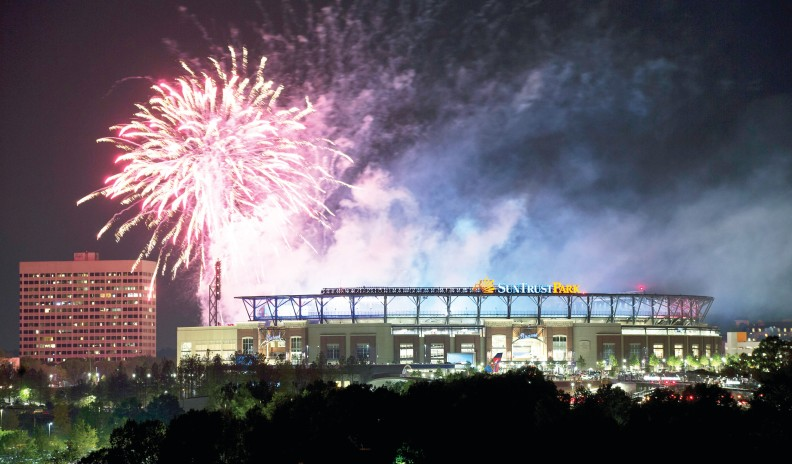 Braves New Stadium Baseball